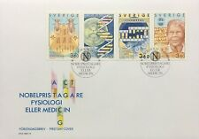 Sweden 1989 Nobel Prize in Physiology and Medicine Commemorative Cover