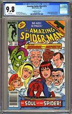 AMAZING SPIDER-MAN #274 CGC 9.8 WP CPV CANADIAN NEWSSTAND PRICE VARIANT MEPHISTO