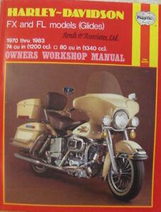 Harley-Davidson FX and FL Models 1970-83 Owner's Workshop Manual