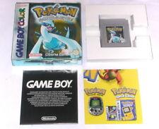 Juego: Pokemon plateado de plata Edition para gameboy color + Advance en OVP