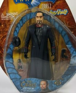 2001 Toy Vault Farscape Series 2 Captain Bialar Crais Action Figure MOC