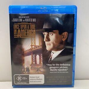 Once Upon A Time In America RARE Blu-Ray DVD Region B Robert De Niro