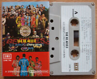 THE BEATLES - SGT. PEPPER'S LONELY HEARTS CLUB BAND (GMR 746) CASSETTE TAPE