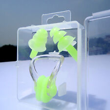 Waterproof Swimming Set Nose Clip + Ear Plug Earplug Useful Tool For Kids Adult