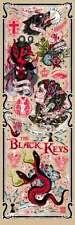 The Black Keys Melbourne Australia 12 Poster Signed Rhys Cooper S/N #/30 Variant