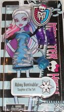 MONSTER HIGH FASHION PACK ABBEY BOMINABLE ABITO SCARPE BORSA Y0401 MATTEL NUOVA