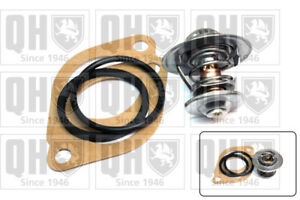 Coolant Thermostat fits OPEL ASCONA C 1.6 1.8 1.6D 81 to 86 QH 1338046 1338051