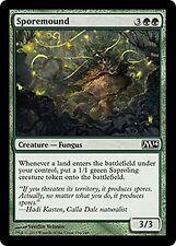 Sporemound   x4  EX/NM CHINESE M14  MTG Magic  Green  Common