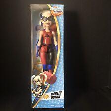 "Harley Quinn DC Super Hero Girls 12"" Doll Mattel NEW IN BOX"