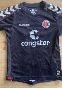 FC St. Pauli original HUMMEL Gr. 140 Nr. 17 Fabian Boll Kindertrikot