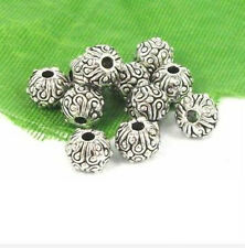 Free Ship 30Pcs Tibetan Silver Spacer Beads For Jewelry Making 5.5x6.5mm