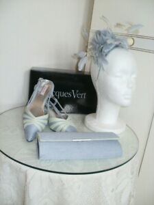 Jacques Vert - shoes, bag and fascinator