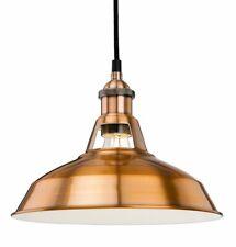 Firstlight Albany 1 Ceiling Pendant Light Brushed Copper 21cm H x 38.5cm W