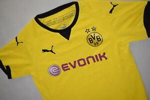 Puma Borussia Dortmund Trikot Jersey Camiseta Maglia Maillot BVB Gelb 164 Kid XL