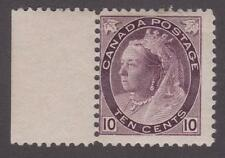 """Canada 1898 #83 Queen Victoria """"Numeral Issue""""  MH VG"""