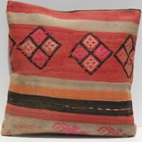 "18""X18"" rug cushion Kurdish kilim rug pillow square wool handmade kilim area rug"