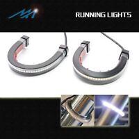 Front Fork Super LED Running Light Bar Fit Yamaha XV 1600 Road Star 99-03