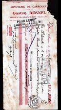 """MESNIL-MAUGER (14) MINOTERIE de CARROUGES / MOULIN à FARINE """"Gaston BUSNEL"""" 1932"""