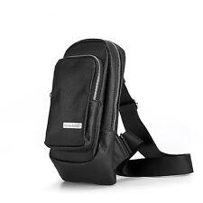 Bombata - Black Classic Sling Pack Shoulder Bag