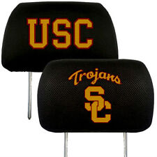 USC Trojans 2-Pack Auto Car Truck Embroidered Headrest Covers