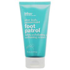 Bliss Foot Patrol AHA Exfoliating Softening Cream 2.5 fl oz