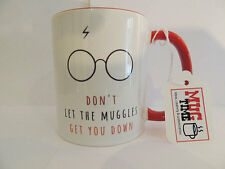 Harry Potter Mug - Don't let the muggles get you down - Funny - Quote - Gift Cup