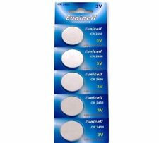 5 x Eunicell CR2450/DL2450 3v Lithium Button/Coin Cell Battery Batteries OX12