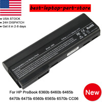 Adapter Battery New For HP EliteBook 8460p 8460w 8470p 8470w 8560p 8570p