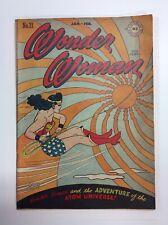 Wonder Woman #21 DC Comics Comic Book Golden Age