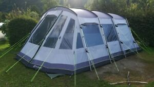 Outwell Montana 6P mit Extension Size 5, FRONT AWNING Grau