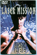 LASER MISSION - 1990 DVD - BRANDON LEE
