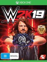 WWE 2K19 XBOX ONE S X NUOVO SIGILLATO ITALIANO DISCO FISICO WRESTLING SMACK DOWN