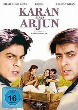 Karan und Arjun (Shah Rukh Khan) Bollywood DVD NEU + OVP!
