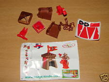 KINDER C-36 C36 FUNNY CASTLE RITTER + BPZ + STICKERS