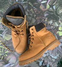 LEVIS Boots Size UK 8 TAN | Work High Casual Leather Upper