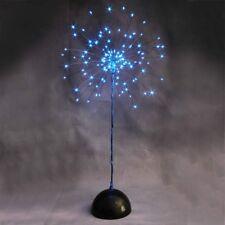 120 LED Baum Batterie 50cm blau Leuchtbaum Weihnachtsbaum Lichterbaum Tischdeko