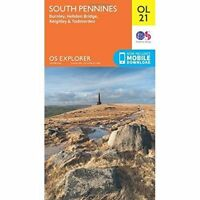 South Pennines OL21 by Ordnance Survey (Digital Download & Cover Only)