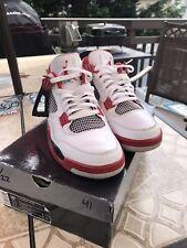 Air Jordan 4 (IV) Retro - Mars Blackmon (White/Varsity Red - Black) 308497-162