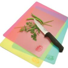 NORPRO Chopping Board FLEXIBLE CUTTING MATS SET OF 3 COLOR ICON NP39 N