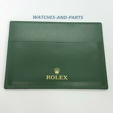 Rolex Green Watch Wallet 4119209.05 GENUINE NEW ORIGINAL