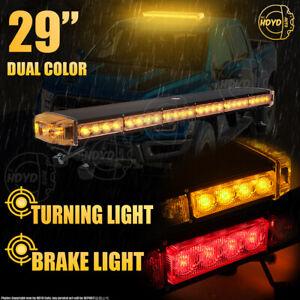 "54LED 29"" Strobe Light Bar Emergency Beacon Warn Tow Truck Response Amber Yellow"