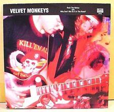 "Sub Pop SP102, Club #28 - VELVET MONKEYS Rock The Nation- '91 NM 7""  CLEAR VINYL"