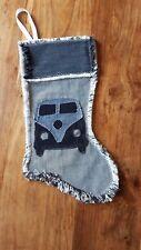 VW Camper Van T1 T2 T3 T25 Christmas Stocking,Handmade Festive Xmas Sock, Unique