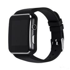 X6 Aluminiumgehäuse Universal Bluetooth Smartwatch - Schwarz