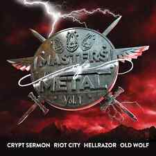 MASTERS OF METAL Vol. 1 (NEW*US METAL*CRYPT SERMON*RIOT CITY *HELLRAZOR*OLD WOLF