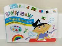 Brainy Baby Right Brain Book - Brand New!