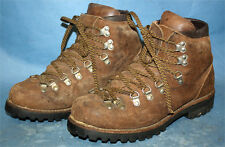Womens Vtg Vasque/Voyageur Brown Leather Mountaineering/Trail/Hiki ng Boots 7.5 N