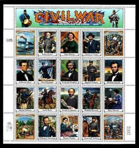 1¢ WONDER'S ~ 1994 MNH SOUVENIR SHEET W/ 32¢ CIVIL WAR (FV = $6.40) ~ S925