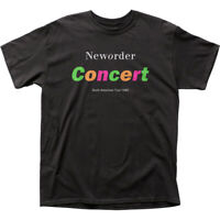 Authentic New Order Concert North American Tour 1989 Adult T-shirt S M L X 2X