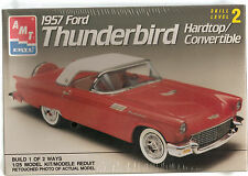 1957 FORD THUNDERBIRD HARDTOP/CONVERTIBLE 1/25 AMT/ERTL FACTORY SEALED LOT 106M